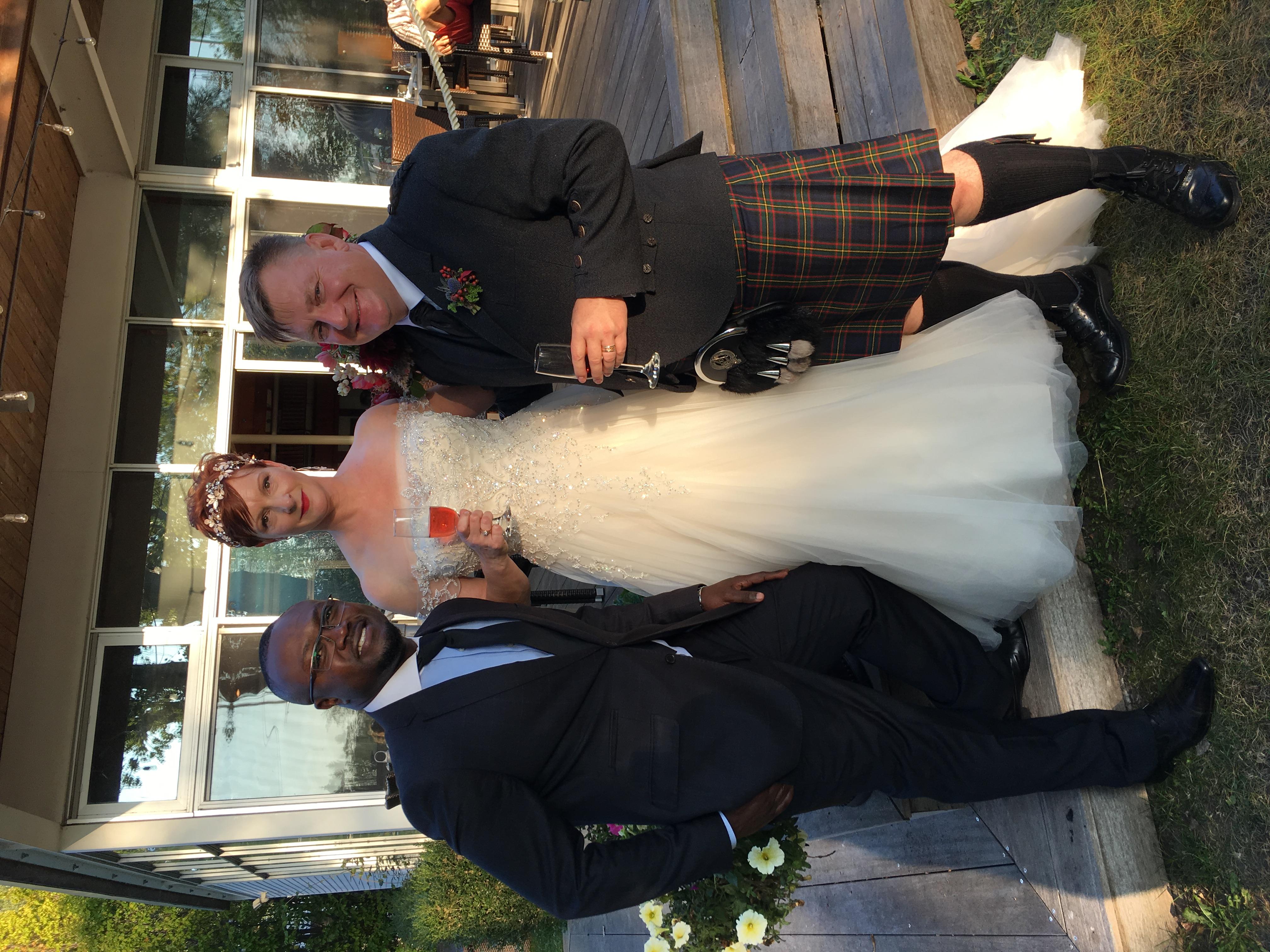Island Yatch Club Wedding Officiant