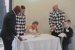 Kim & Ryan's Signing