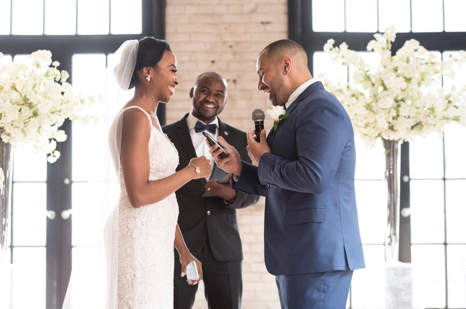 Storys Building Wedding Officiant