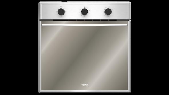 "Horno Gas Empotre Teka HSB 750 G SS RX 60 cm (24"") Acero Inox Antihuella Negro"