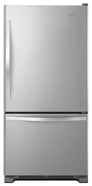 Refrigerador Bottom Mount 625 L / 22 p³ WRB322DMBM en Acero Inoxidable de 83 cm