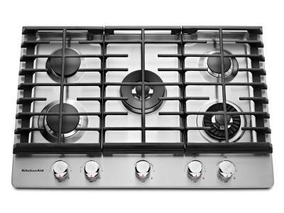 "Parrilla Gas KitchenAid KCGS950ESS de 76 cm (30"") con Plancha"