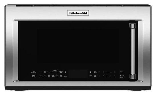 """Microcampana KitchenAid KMHC319ESS 76 cm (30"""") y 1.9 p³"""