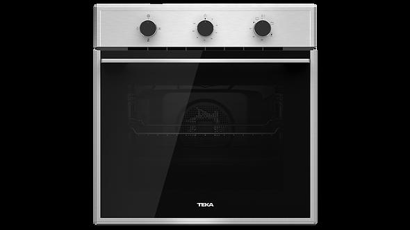 """Horno Gas Empotrar Teka HSB 750 G SS de 60 cm (24"""") Acero Inox Antihuella Negro"""