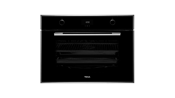 "Horno El�ctrico Empotrar Teka HLF 840 de 80 cm (31"") Cristal Negro"