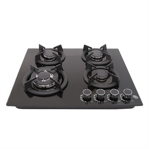 Parrilla Gas Empotre/Sobreponer IHD ETNA60 60 cm Cristal Templado y 4 Quem