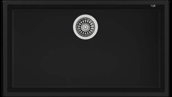 Tarja Submontar Teka SQUARE 72.40 TG B TEGRANITE+ Negra 76 cm