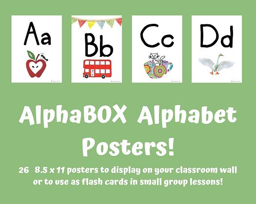 Alphabet Posters Set