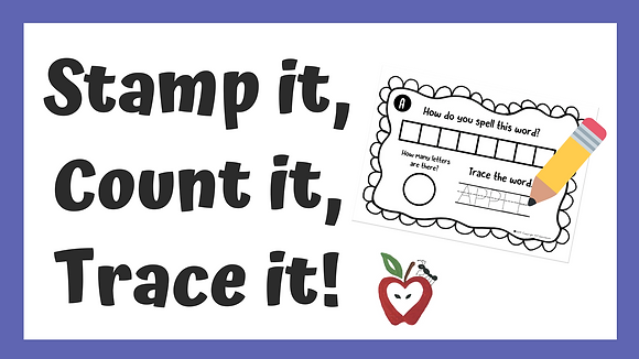 Set of Stamp it, Count it, Trace it!