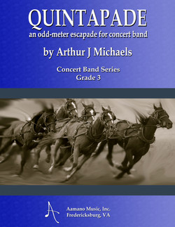 COVER---QUINTAPADE---ARTHUR-MICHAELS---CONCERT-BAND-SERIES