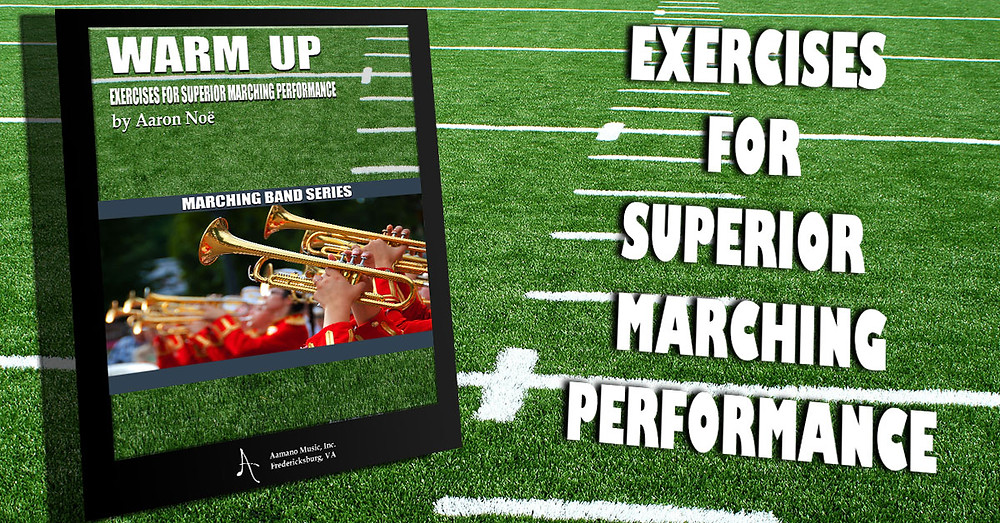 warm up exercises for superior marching band performance