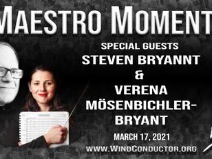 Creating Music & Relationship - Steven Bryant & Verena Mösenbichler-Bryant - Maestro Moments
