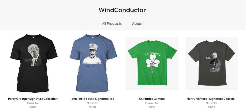 Wind Conductor T-Shirts
