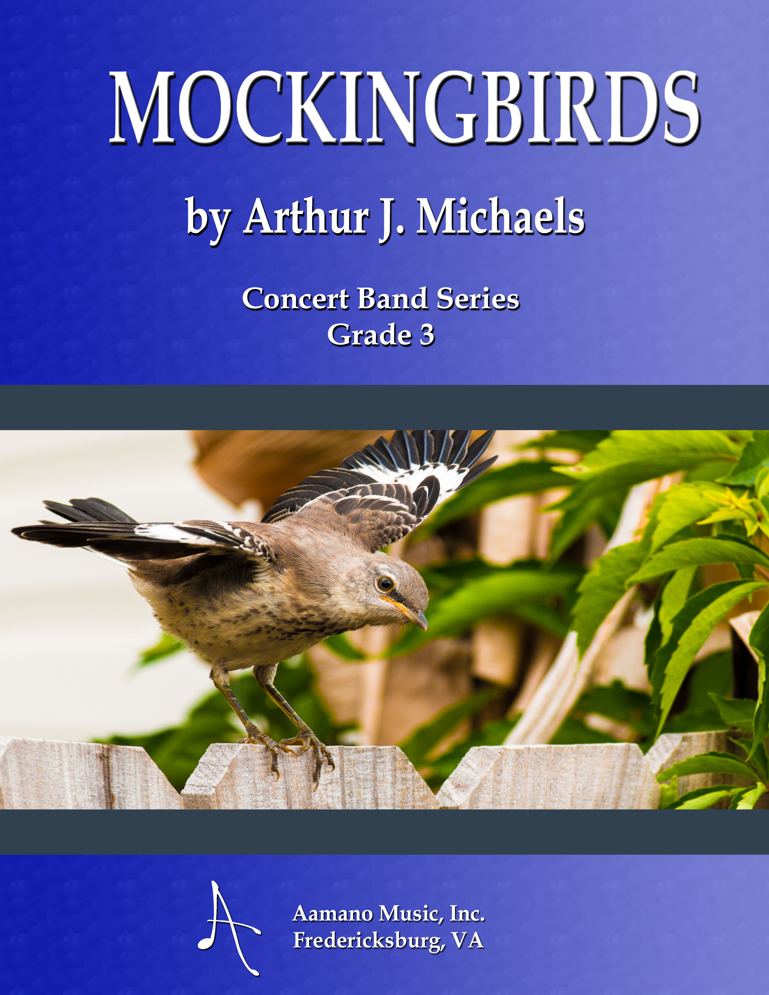 COVER---MOCKINGBIRDS---ARTHUR-MICHAELS---CONCERT-BAND-SERIES