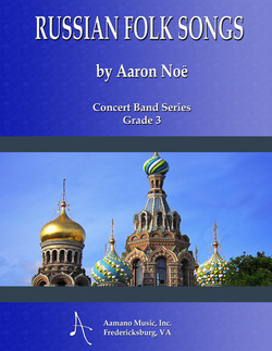 RUSSIAN FOLK SONGS COVER - CONCERT BAND SERIES