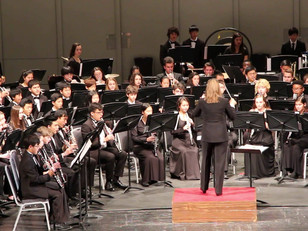 From Marching Band to Concert Band ---The Fall Transition