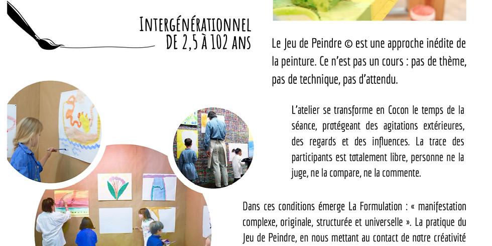 Ateliers du jeu de peindre : séance découverte 10€