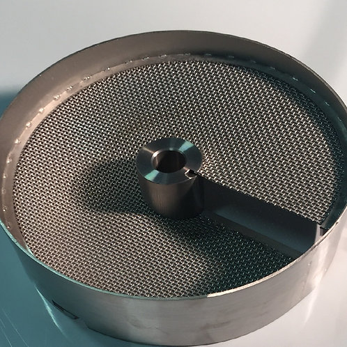 Rubber Unit top scoop with sieve tray