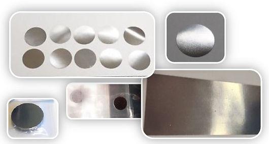 beryllium, Mossbauer, spectroscopie, RX, disques beryllium