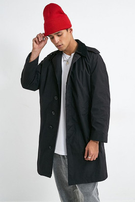 Cord Collar Trench
