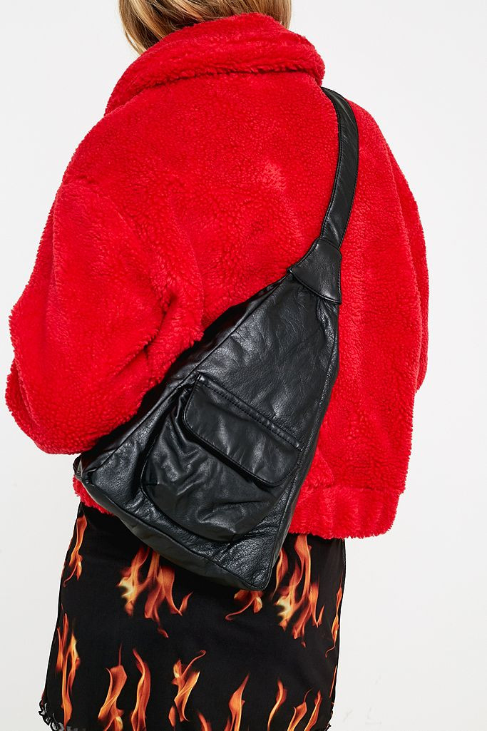 Crossbody Triangle Backpack