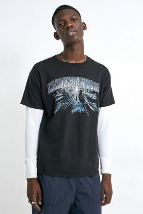 Waffle Sleeve T-shirt