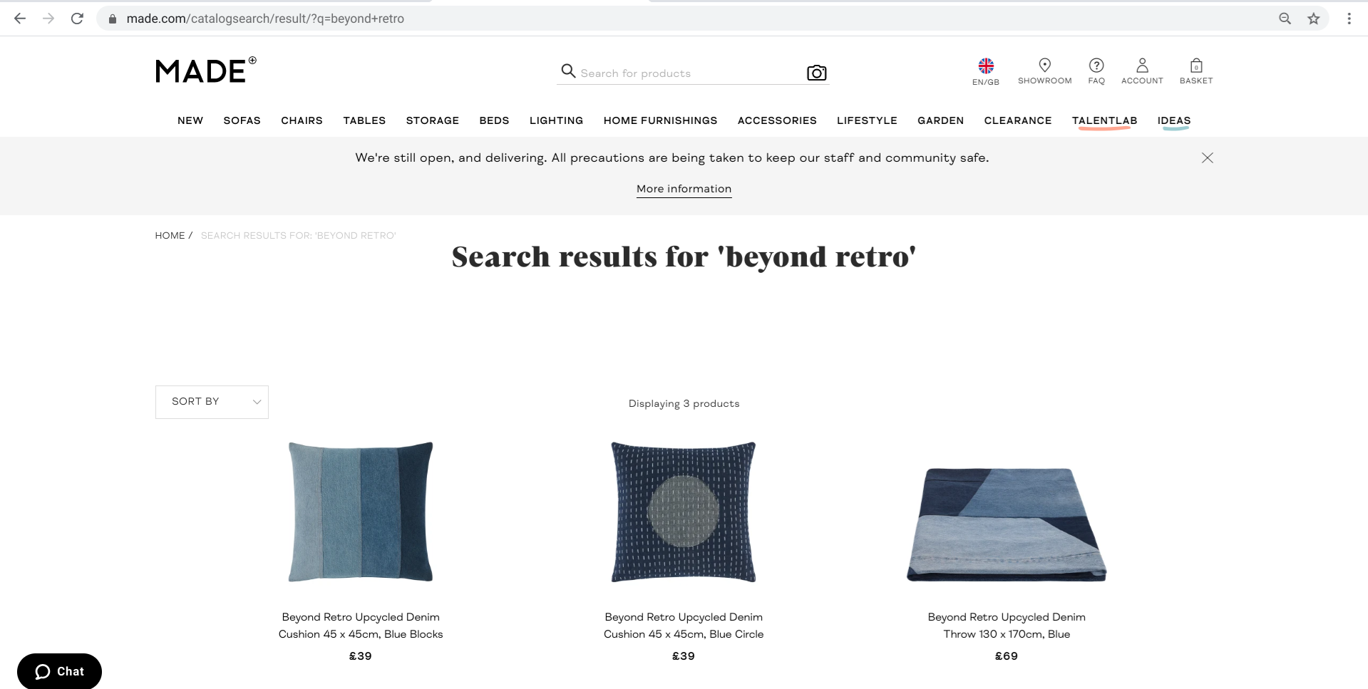 Beyond Retro x Made.com