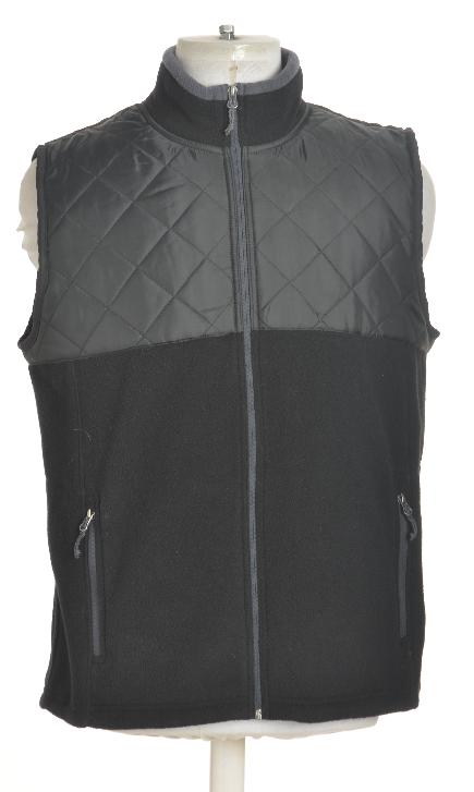 Quilted Fleece Vest