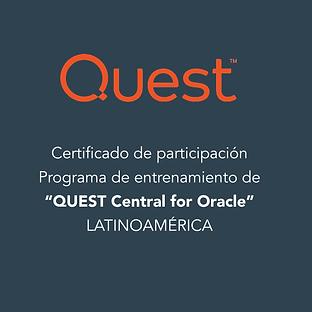 Reconocimientos AT-Quest central for ora