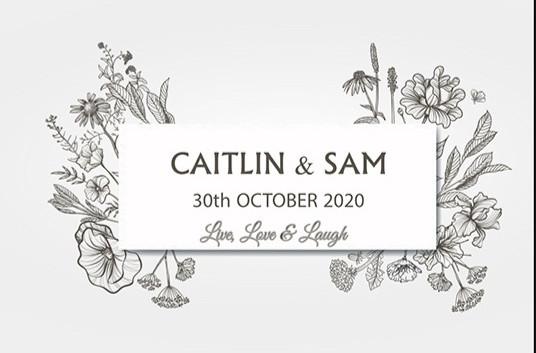 Wedding label 2