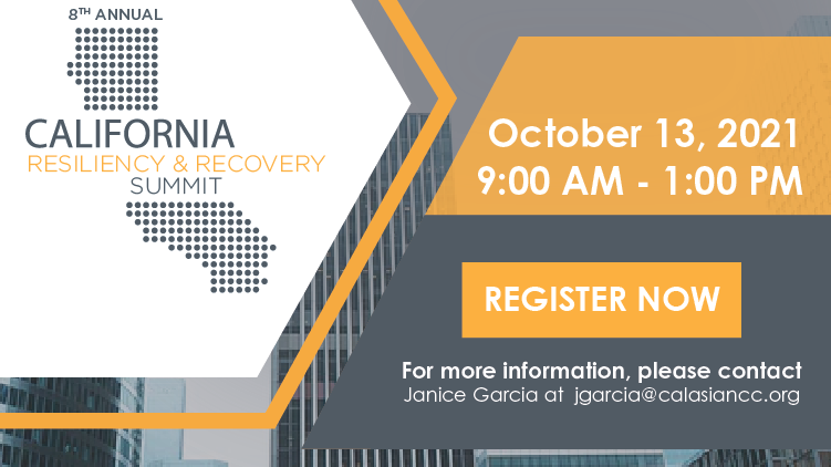 8th Annual California Resiliency & Recovery Summit