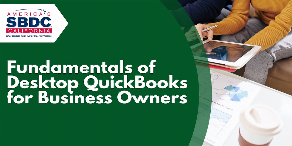 Fundamentals of Desktop QuickBooks for Business Owners