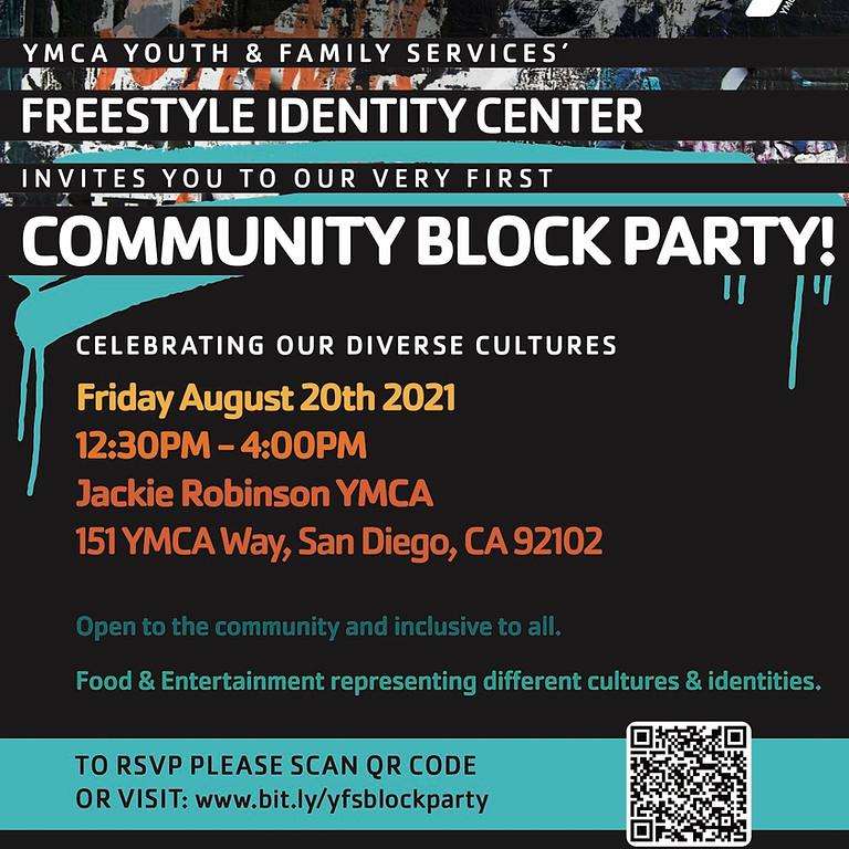 Freestyle Identity Center Community Block Party