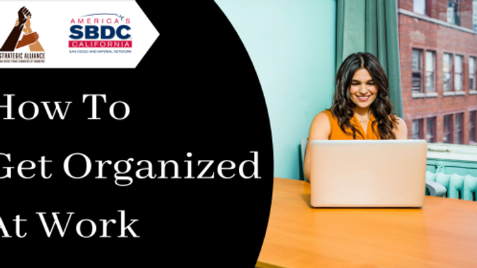 How To Get Organized At Work