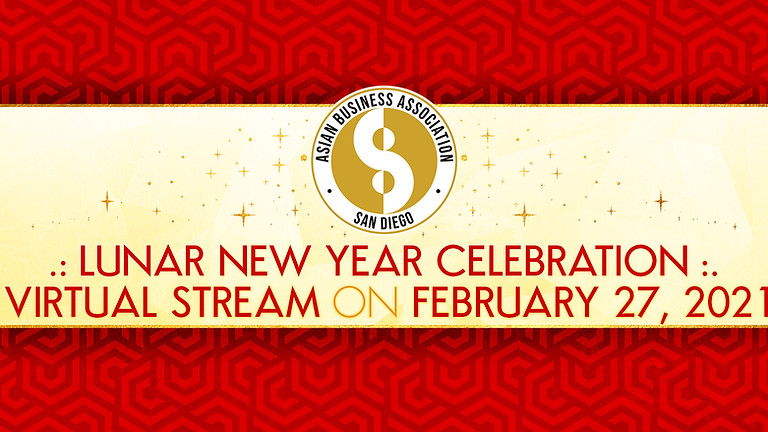ABASD Lunar New Year Virtual Stream Celebration!