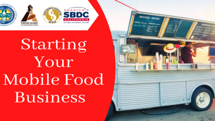 Starting Your Mobile Food Business