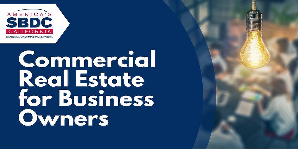 Commercial Real Estate for Business Owners: Part 1