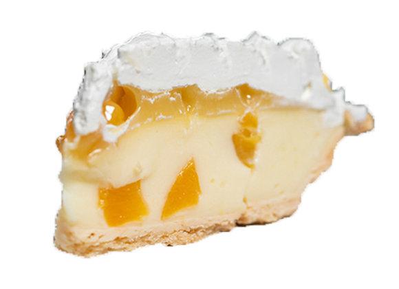 Lilikoi Cream Cheese Pie