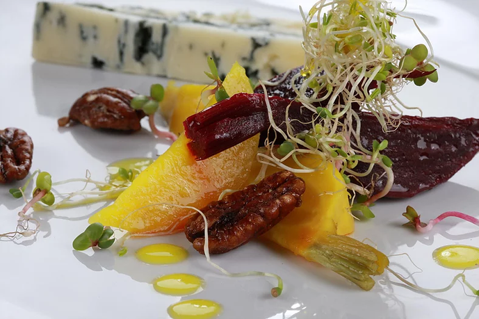 Chef Marco Porceddu: Insalata di barbabietola - Beet Salad