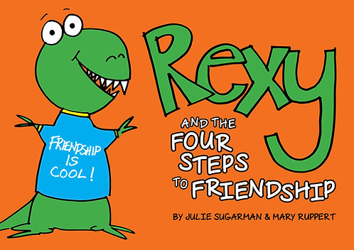 Rexy and The Four Steps to Friendship