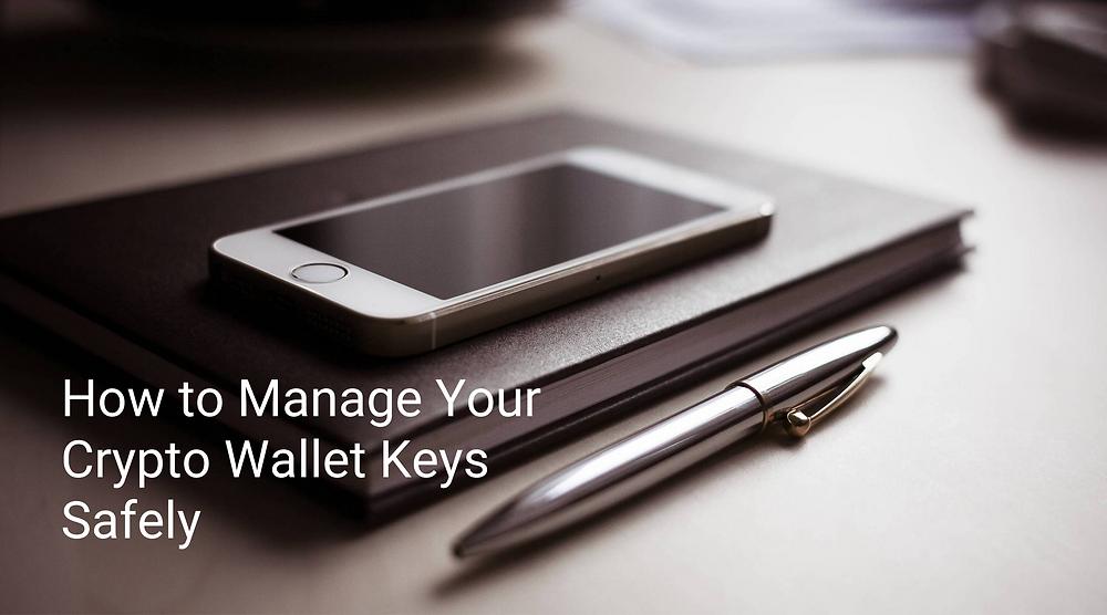 manage crypto wallet keys