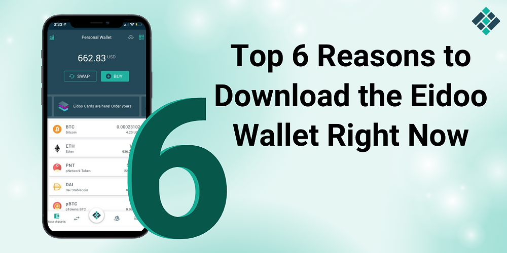 With so many crypto wallets available right now, one is always in doubt as to which one to choose.   Actually, the answer couldn't be simpler. Naturally, it's the one that has all the features you want and is the easiest to use.   Making the right decision is important because, in the end, it is you and your money that will suffer the consequences should anything unforeseen happen to your finances.  As it happens, Eidoo offers a non-custodial wallet solution that brings together largely wanted DeFi features in an easy-to-use manner, making it one of the most complete wallets for any type of crypto user.  Let's take a look at what those features are and why you should download the Eidoo wallet.   1,000+ Tokens   One can never be completely sure what the next big thing in crypto is going to be. However, here at Eidoo, we aim to stay ahead of the curve.   Therefore, right now, there are more than 1,000 tokens and coins available through the app including Bitcoin, Ethereum, Litecoin, stablecoins (USDC, TUSD, PAX), and a myriad of Ethereum tokens (MKR, UNI, SNX, LINK,  AAVE, BAT, REP, OMG, QBIT, GNT, BNT, just to name a few).  As you can see, Eidoo digital wallet gives you the opportunity to invest in a wide variety of digital assets.  Designed for Easy Use  How many times have you complained about unnecessarily convoluted communications from your bank? You get a letter offering you a new credit card and you feel like you are being sued?   Now that you have the opportunity to get out of that vicious cycle, don't make the same mistake by using applications that seem to enjoy torturing you.   Sometimes, more than the look, it is about how the information is presented. At Eidoo we've taken great care to make the user experience as simple and pleasant as possible while still offering a lot of bang for your buck in a complete crypto asset management platform.   So, not only is the wallet interface easy to understand and use, but it is also available for several systems: Deskt