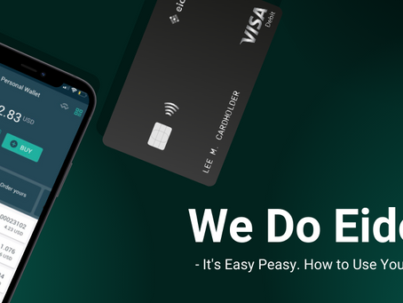 We do Eidoo.  It's easy peasy. How to use your wallet