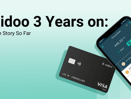Eidoo 3 Years on - The Story So Far