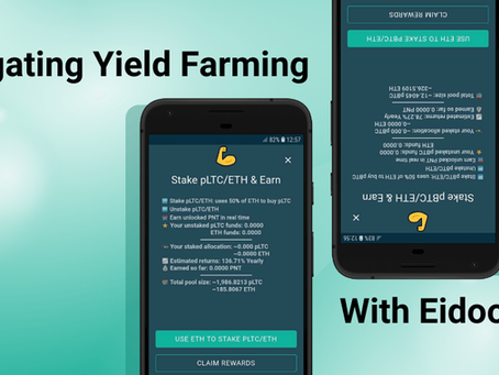 Navigating Yield Farming with Eidoo