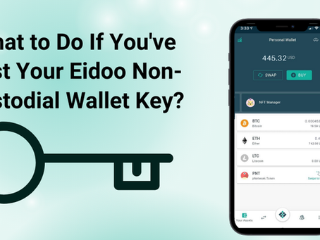 What to Do If You've Lost Your Eidoo Non-Custodial Wallet Key?