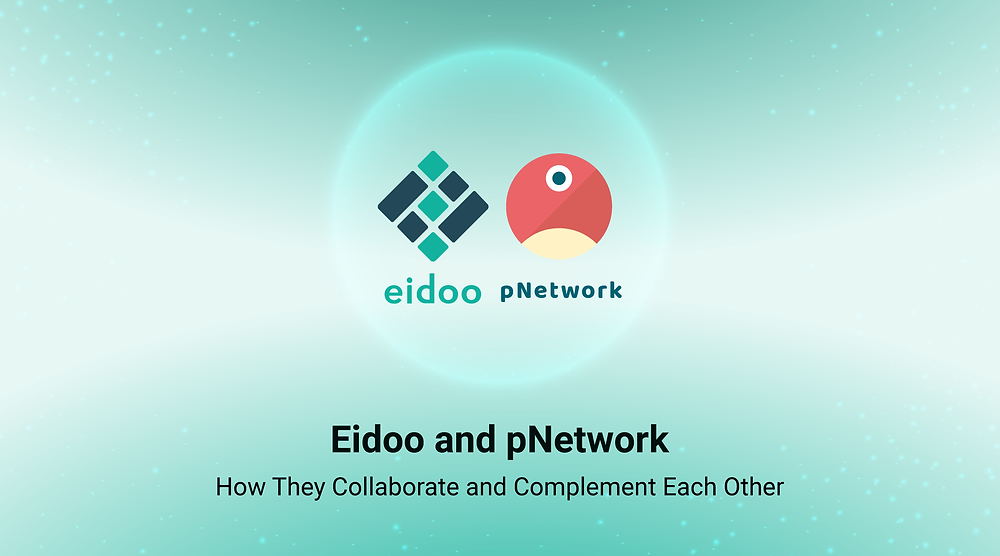 Eidoo and pNetwork collaborate and complement
