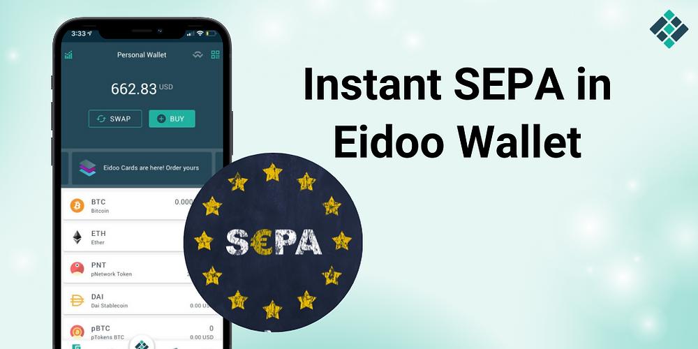 Instant SEPA Eidoo wallet