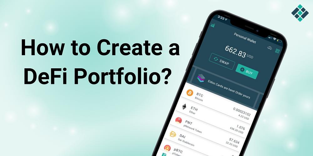 How to Create a DeFi Portfolio?