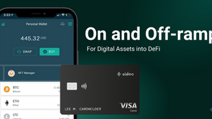 On and Off-ramp for Digital Assets into DeFi